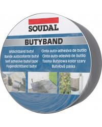 BUTYLBAND (10m/ROL) LOODKLEUR