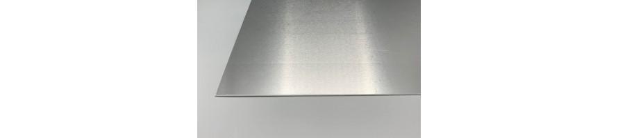 Vlakke aluminium platen