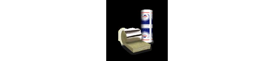 Ursa 12 glaswol spijkerflensdeken aluminium