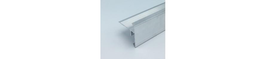 Dakranden in aluminium