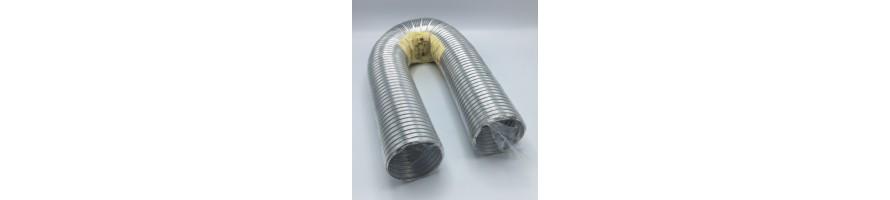 Aluminium flexibel, moffen en verloopstukken