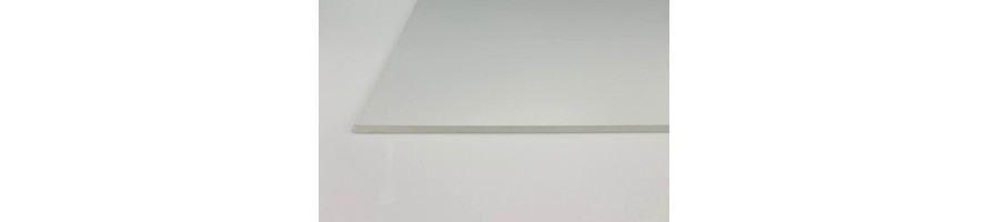 Plexiglas per volle plaat (2.05m X 3.05m)