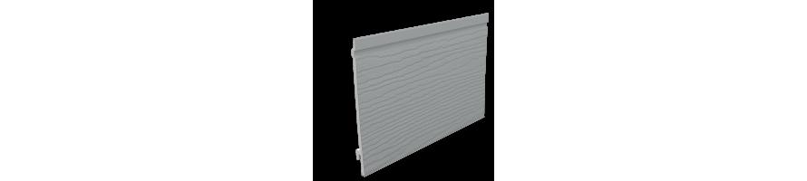 DONKERGRIJS (RAL 7042) ENKEL GEVELPANEEL 167mm + AFWERKINGSPROFIELEN