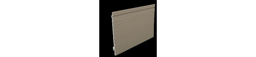 TAUPE (RAL 7006) ENKEL GEVELPANEEL 167mm + AFWERKINGSPROFIELEN
