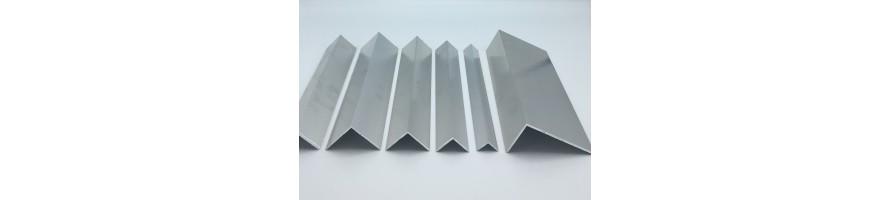 Hoekprofielen in aluminium