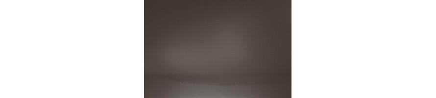 Bruin (Ral 8019 blinkend) Hoekprofielen in aluminium