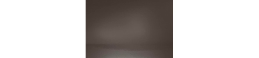 Bruin (Ral 8019 blinkend) zelfdragende aluminium profielen