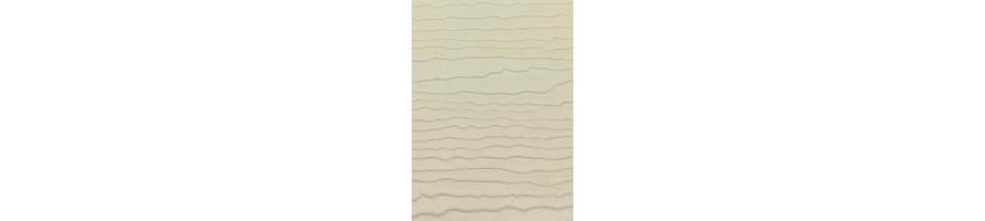 zand (kleur 88) enkel gevelbekleding + toebehoren deceuninck