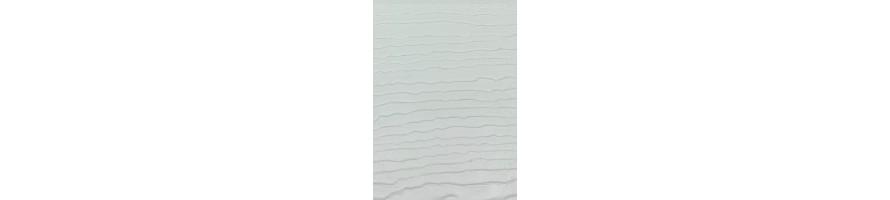 creme wit (kleur 96) enkel gevelbekleding + toebehoren deceuninck