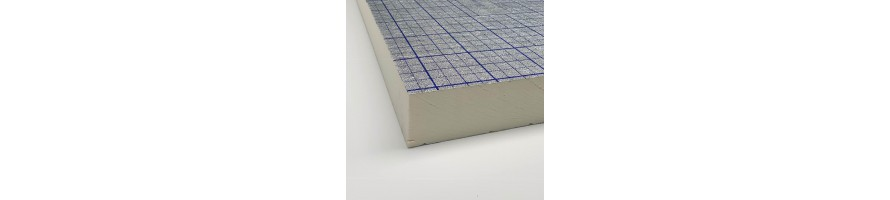 Swisspor PIR isolatie voor plat dak (voor verkleefde dakbedekkingen)